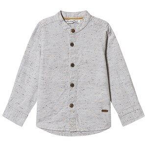 Minymo Shirt Concrete Stone 80 cm (9-12 Months)