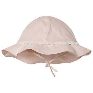 Chlo Embroidered Logo Bucket Hat Pale Pink Sun hats