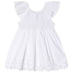 Image of Mayoral Anglaise Embroidered Dress White 24 months