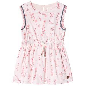 Image of Carrment Beau Floral Print Dress Pale Pink 2 years