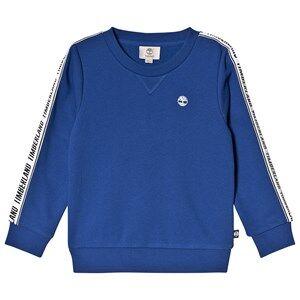 Timberland Tape logo Sleeve and Tree Logo Sweatshirt Blue 6 years