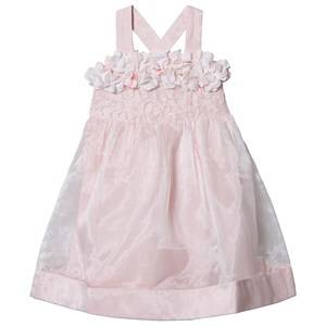 Image of Billieblush Organza Flower and Sequin Dress Pink 8 years