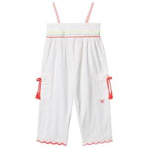 Image of Billieblush Broderie Anglaise Jumpsuit White 6 years