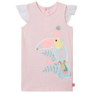 Image of Billieblush Toucan Print Tunic Dress Pink 3 years
