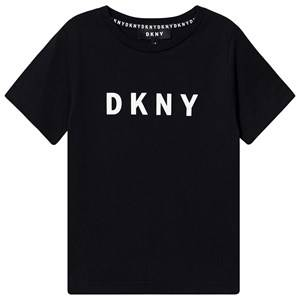 DKNY Logo Tee Black 12 years