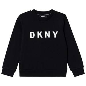 DKNY Logo Sweatshirt Black 12 years