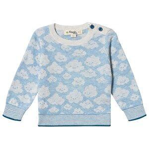 The Bonnie Mob Cloud Hope Sweater Blue 12-18 Months