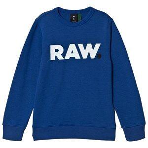 G-STAR RAW Graphic Printed Sweatshirt Blue 12 years