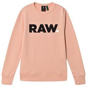 G-STAR RAW Graphic Printed Mini Me Sweatshirt Pink 16 years