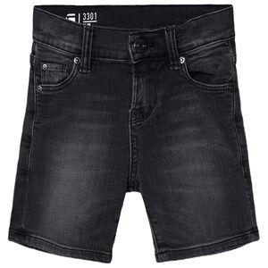 G-STAR RAW 3301 Slim Denim Shorts Grey Wash 10 years