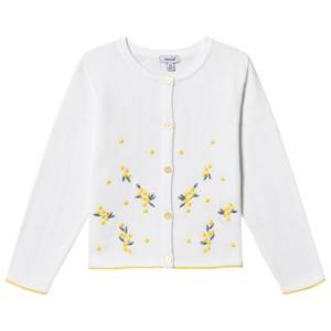 Image of Absorba Knitted Embroidered Cardigan White 9 months