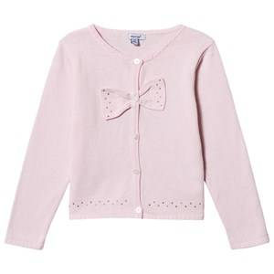 Image of Absorba Knitted Bow Cardigan Pink 9 months