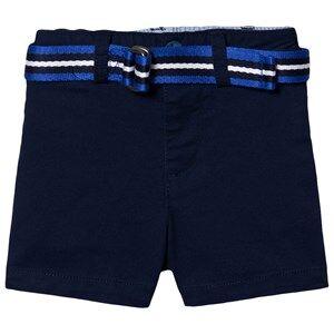 Ralph Lauren Belted Oxford Chino Shorts Navy 9 months