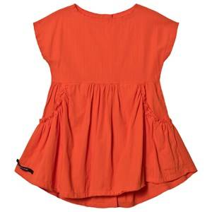 Creative Little Creative Factory Crushed Cotton Dress Orange 6 Years