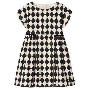 Creative Little Creative Factory Diamond Dress Cream/Black 8 Years
