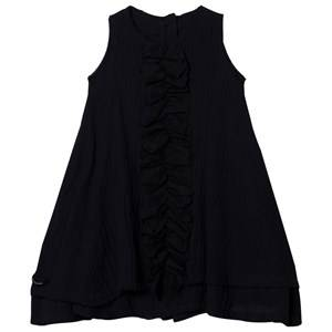 Creative Little Creative Factory Muslin Ruffle Dress Black 6 Years