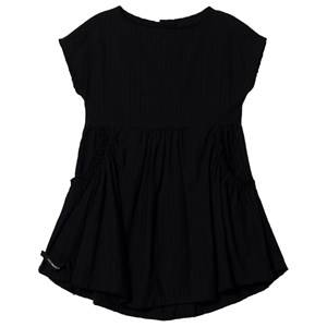 Creative Little Creative Factory Crushed Cotton Dress Black 6 Years