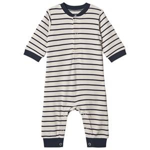 Hust&Claire; Mimmo One-Piece Blue Night 56 cm (1-2 Months)