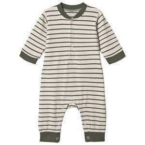 Hust&Claire; Mimmo One-Piece Olivine 68 cm (4-6 Months)