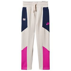 NIKE Heritage Trackpants White/Pink L (12-13 years)