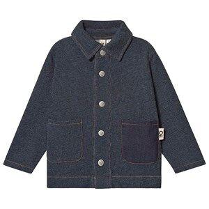 Oii Worker Jacket Blue Denim 110/116 cm