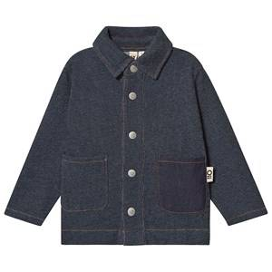 Oii Worker Jacket Blue Denim 134/140 cm