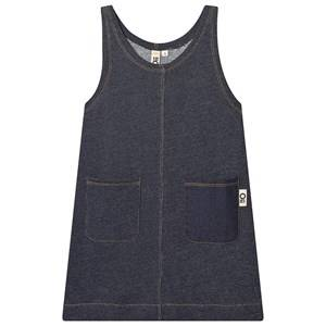 Oii Worker Dress Blue Denim 122/128 cm