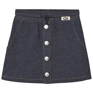 Oii Skirt Worker Blue Denim 110/116 cm