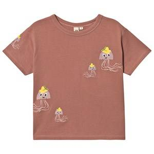 Oii Jellyfish T-Shirt Withrered Rose 146/152 cm