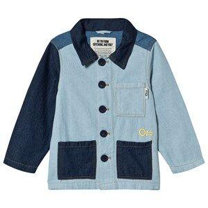 Oii Leif Denim Worker Jacket Blue 122/128 cm
