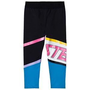 Stella McCartney Kids Sport Branded Leggings Black 8 years
