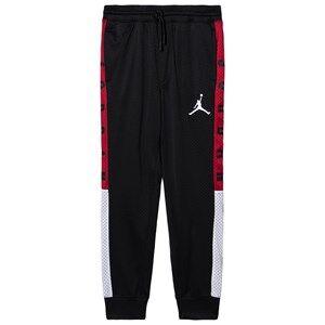 Air Jordan Logo Mesh Track Pants Black 10-12 years