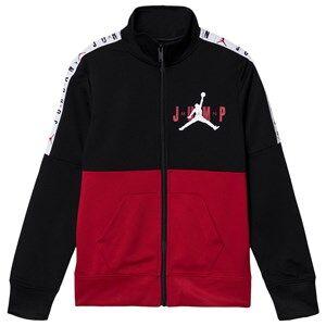 Air Jordan Logo Tape Track Top Black 10-12 years