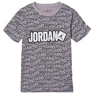 Air Jordan Logo Tee Atmosphere Grey 8-10 years