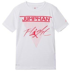 Air Jordan Logo Tee White 8-10 years