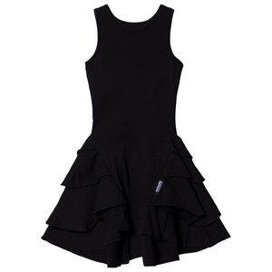 NUNUNU Fancy Layered Dress Black 6-7 Years