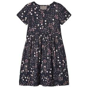 Image of Creamie Jersey Dot Dress Total Eclipse 128 cm (7-8 Years)