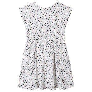 Creamie Multi Print Dress Pink Icing 128 cm (7-8 Years)