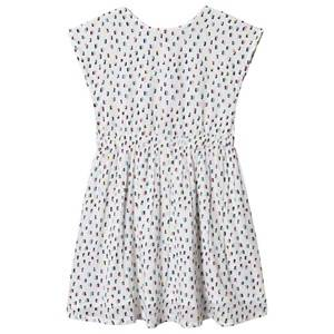 Creamie Multi Print Dress Pink Icing 134 cm (8-9 Years)