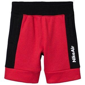 NIKE Air Shorts Black/Red 4-5 years