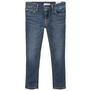 Image of Calvin Klein Jeans Stretch Jeans Mid Blue 8 years