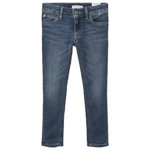Image of Calvin Klein Jeans Stretch Jeans Mid Blue 4 years