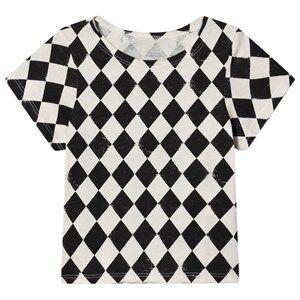Creative Little Creative Factory Soft Diamond T-Shirt Black/Cream 6 Years