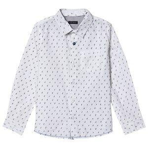 IKKS Lighting Bolt Print Shirt White 14 years