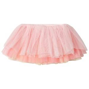 Image of Bloch Color Contrast Tutu Skirt Pink/Yellow 4-6 years