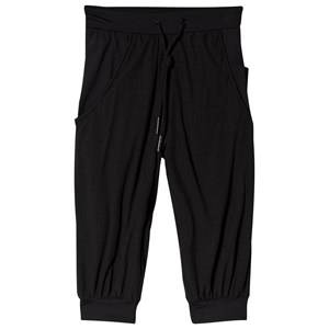 Image of Bloch Perforated Cropped Pant Black 8 years