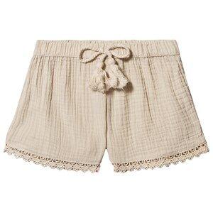 Rylee + Cru Solana Shorts Natural 6-7 Years