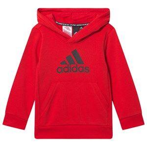 adidas Performance Logo Hoodie Red 5-6 years (116 cm)