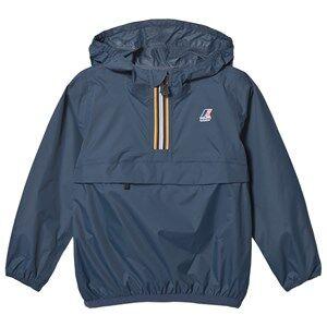 K-Way Le Vrai 3.0 Leon Jacket Deep Blue Raincoats