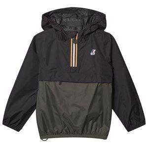 K-Way Le Vrai 3.0 Claude Jacket Black/Black Torba Raincoats